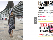Dubai World Cup 2017 – Best Dressed Women
