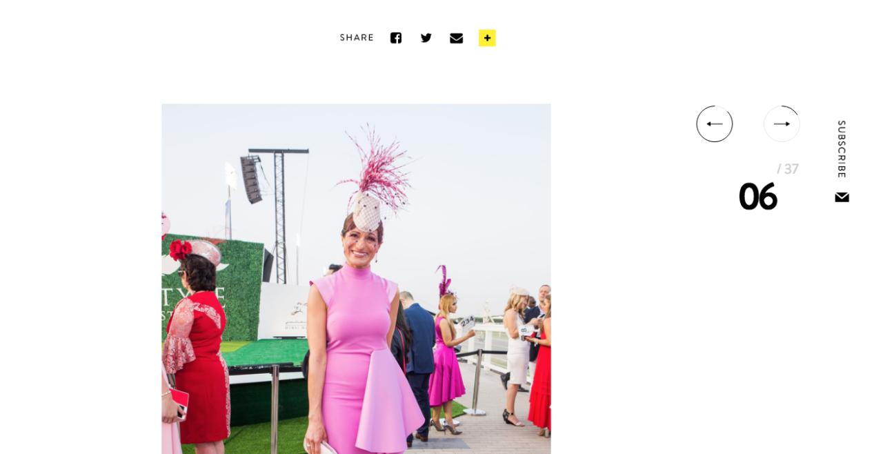 Dubai World Cup 2018 – Grazia Best Dressed