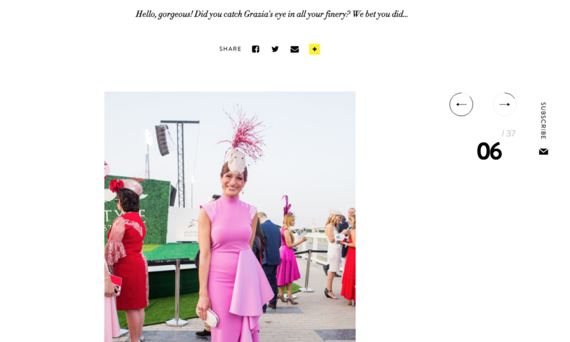 Dubai World Cup 2018 – Grazia Best Dressed